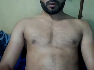 Handsome Desi Guy with Big Penis
