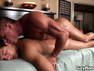 Tyler Saint & Tony Newport - Gentle Cock Massage
