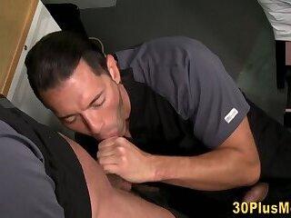 Buff stud get ass plowed
