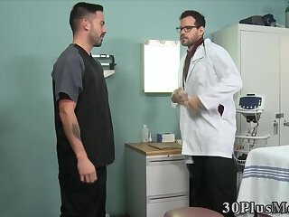 Doctor sucks studs cock then gets fucked