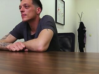 DIRTY SCOUT 214 - Gay for pay handjob interview