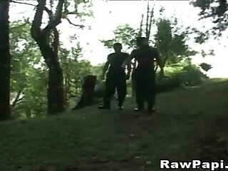 Hunk Gays Fucking each other hole