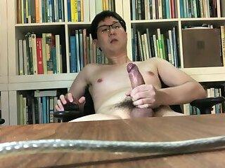 Singapore boy's cumpilation of huge cumshots