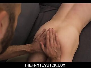 Young Skinny Twink Stepson Massage Fuck From Family Stepdad