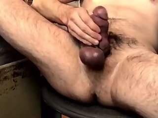 Beercandilf jerks his impossibly thick hairy wrist thick pussywrecker