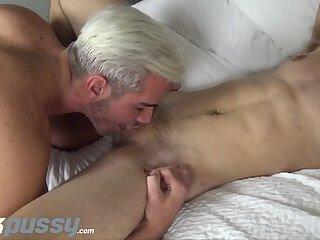 JockPussy - FTM Luke Hudson given hot facial after stud bareback fuck
