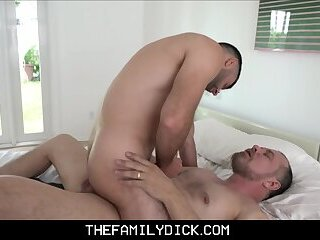 Bear Step Dad Family Sex With Step Son After Fucking His Mom With Viagra