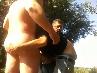 real Muscle man loves to be naked and sucked