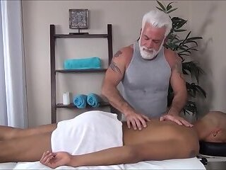 dads bareback massage