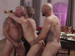 Poker Night Orgy