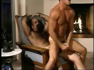 Hiary Daddy Fucks Hot Stud
