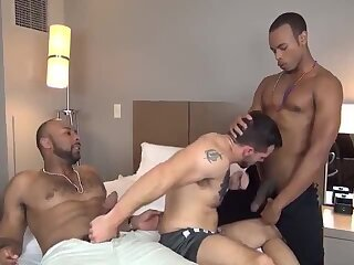 gangbanged By Two black males