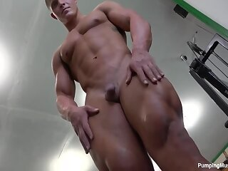 handsome muscular hunk part -2 posing