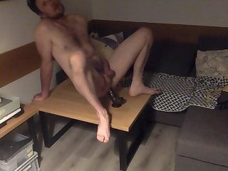 what a horny session with my dildo