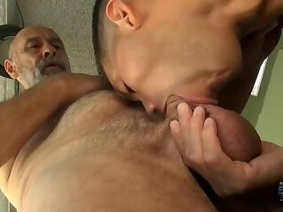 old man fuck a