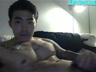 korean boy cum show