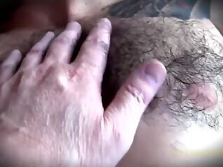 Sleeping hairy Guy stripped amp jacked off