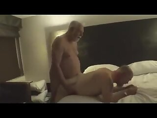 Old daddies daddy lovers in group sex session