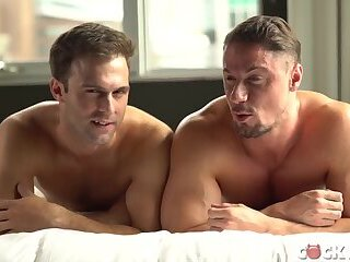 Amazing sex scene of two hot guys