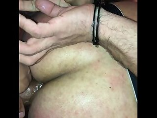 Getting tied up and fucked
