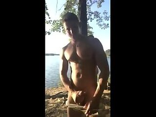 Hot fuck by the lake