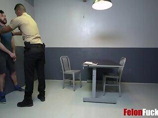 Felon Goes Gay With Corrupt Cop