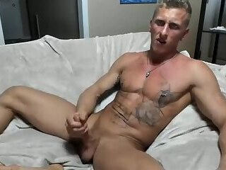 Sports Guy with a big dick