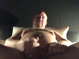 chubby daddy bear masturbation