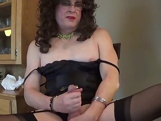 Slutty married sissy saying way too much