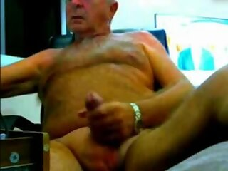 old man jerk off