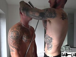 Daddy Spanks and Fucks Big Ass Muscle Twink bad lads p