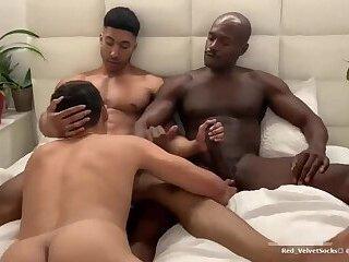 Hot gay threesome