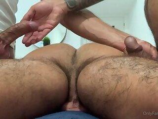 SpanishBFs Massage and RawFuck with InkedPornStud