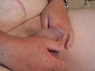Granddad with cock rings 001
