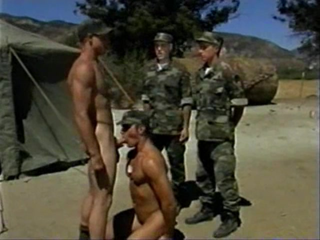 Gay Military Gang Bang