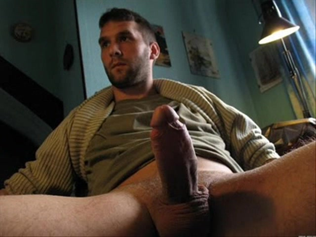 Bisexual muscle hunk jerks off his big uncut cock big uncut dicks