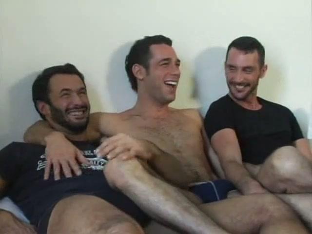 Trio Feet Licking Sucking Fucking