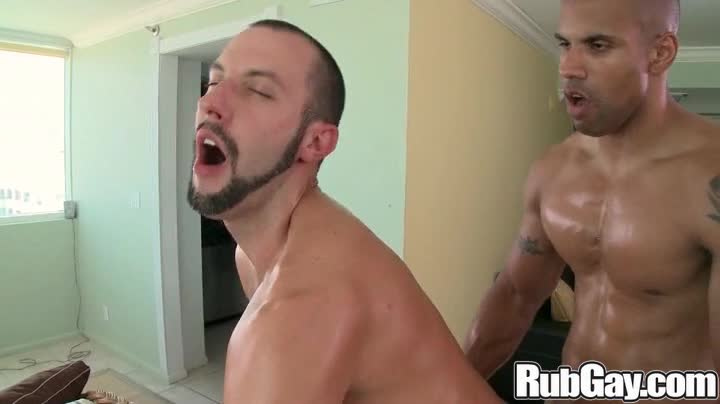 Rubgay Oily Cock Anal
