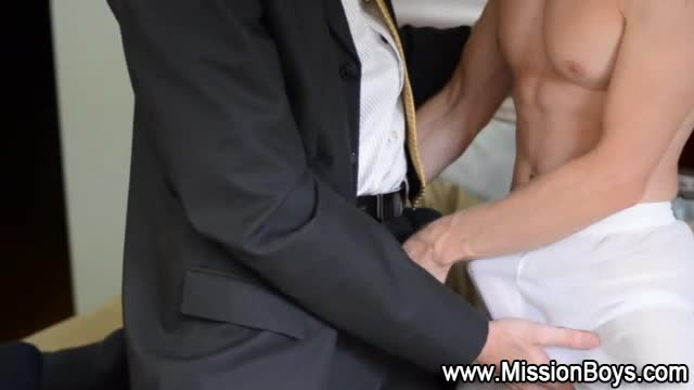 Missionary boy guilty blowjob