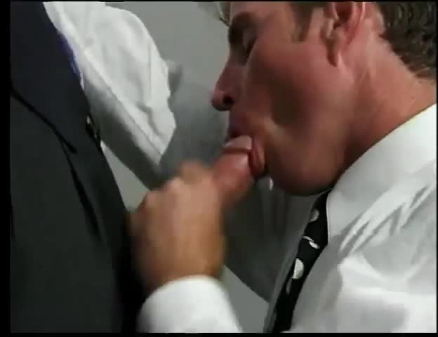 Lewd Gay Guy Sucking Sloppy Dick