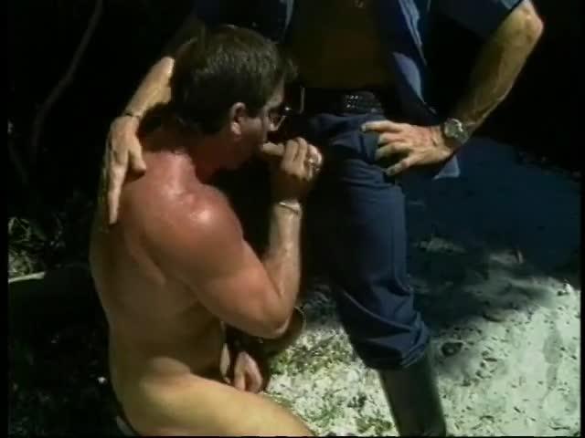getting blow job Cop