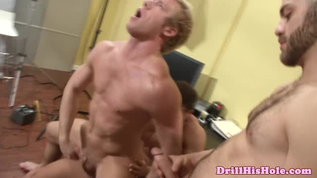 Unmerciful Gay Hunk Giving Anal Fuck