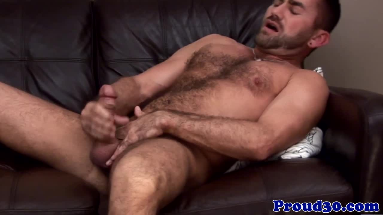 Dilf Pornstar Jake Jennings Tugs To Climax