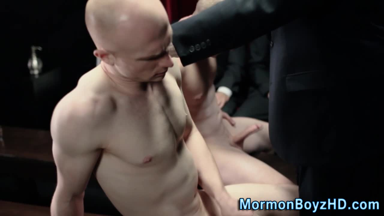 Undies mormons jerk dick