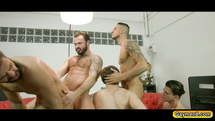 Will brauns orgy showered him with cumloads