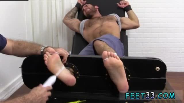 Naked hairy legged arab hunk tickled