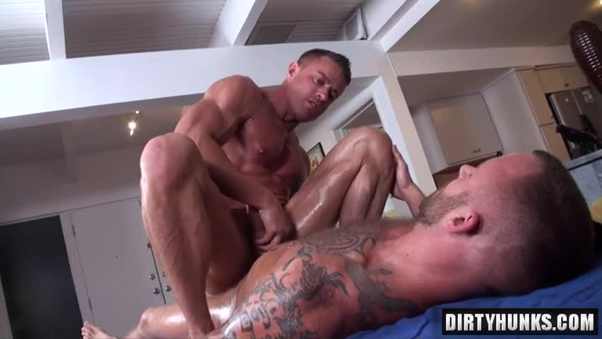 Real massage gay porn