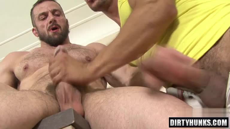 Muscle gay anal and facial