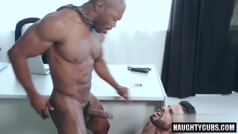 amazing fervent fuck with ebony partner