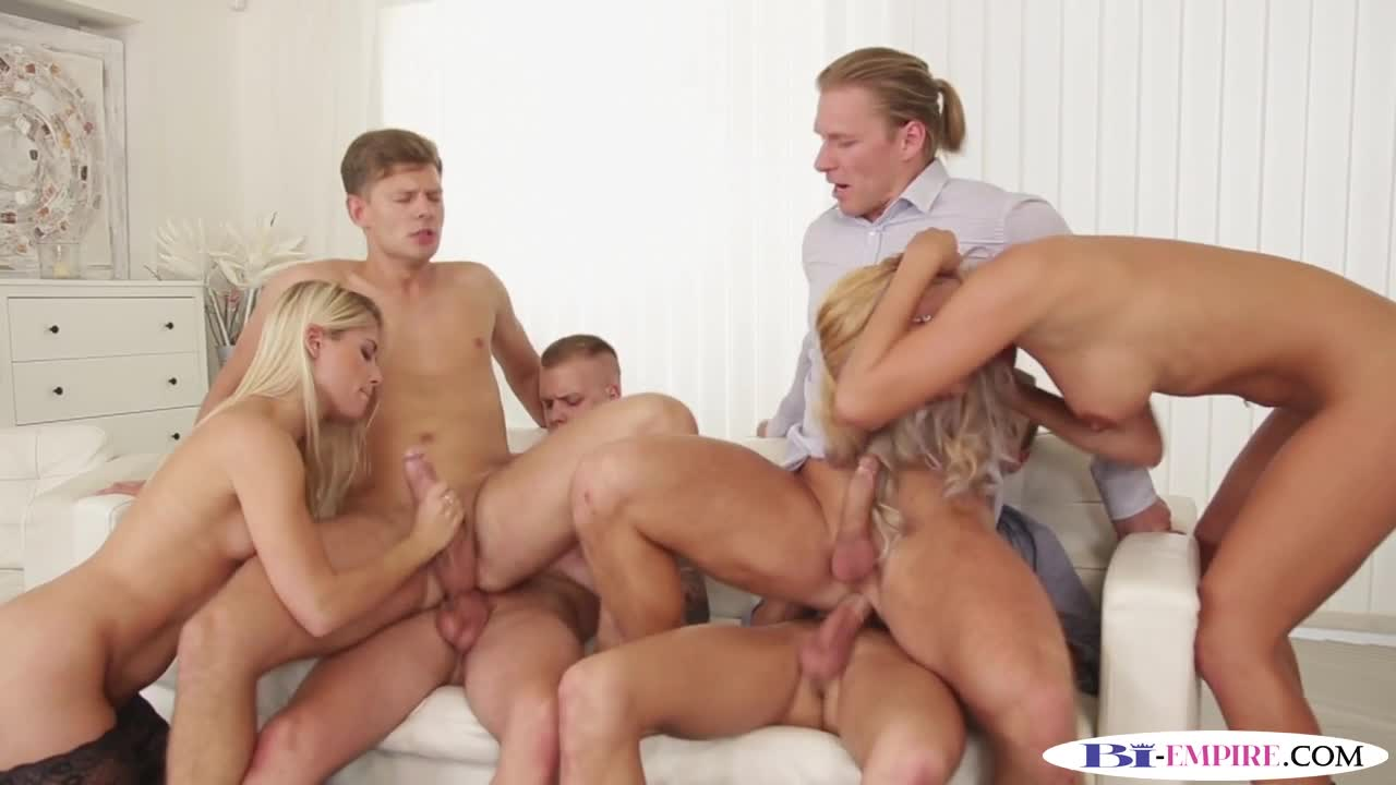 bisexual jock cockriding in bi orgy - boyfriendtv